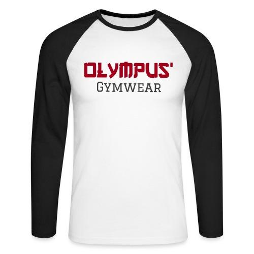 Olympus' gymwear - Men's Long Sleeve Baseball T-Shirt