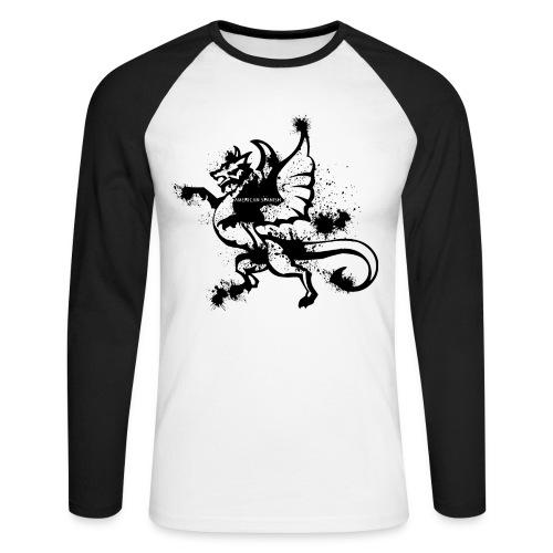 American spanish dragón - Raglán manga larga hombre