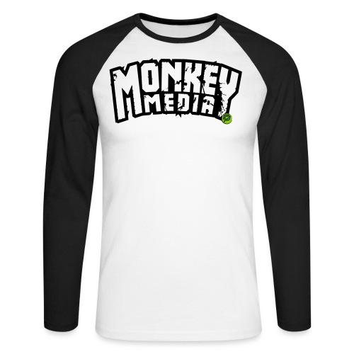 MonkeyMedia Wortlaut - Männer Baseballshirt langarm
