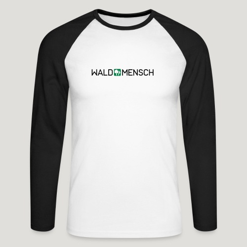 Waldmensch - Männer Baseballshirt langarm