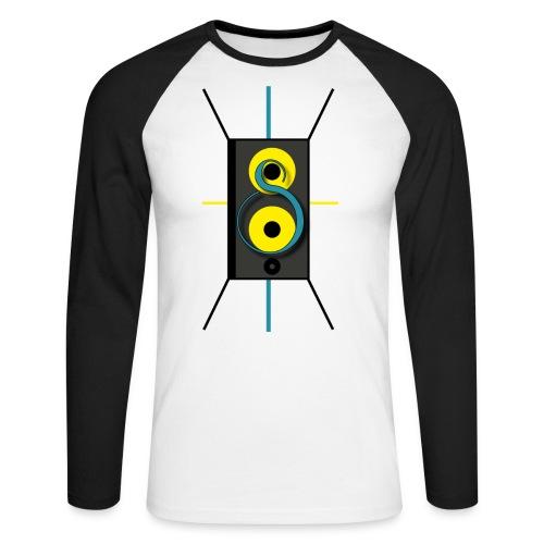 LogoDef png - Mannen baseballshirt lange mouw