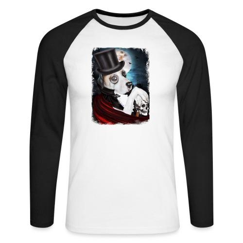 Gothic Dog #2 - Maglia da baseball a manica lunga da uomo