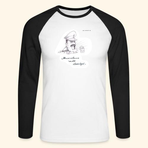 Mundus vult decipi (Diktator) - Männer Baseballshirt langarm