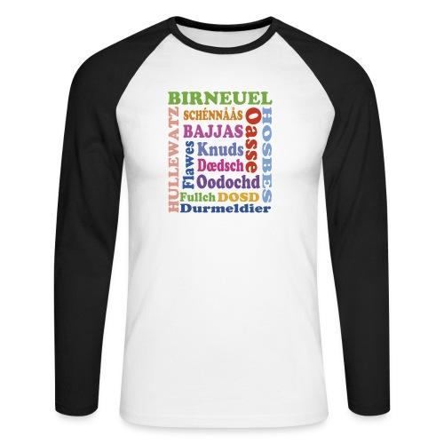 schimpf - Männer Baseballshirt langarm