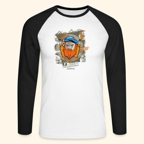 Malthead Whisky T Shirt - Männer Baseballshirt langarm