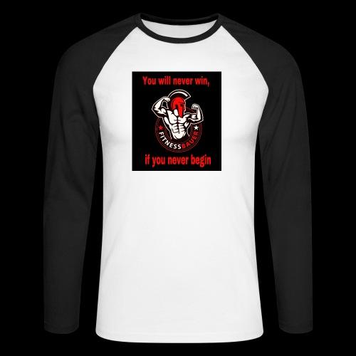 You will never win - Männer Baseballshirt langarm