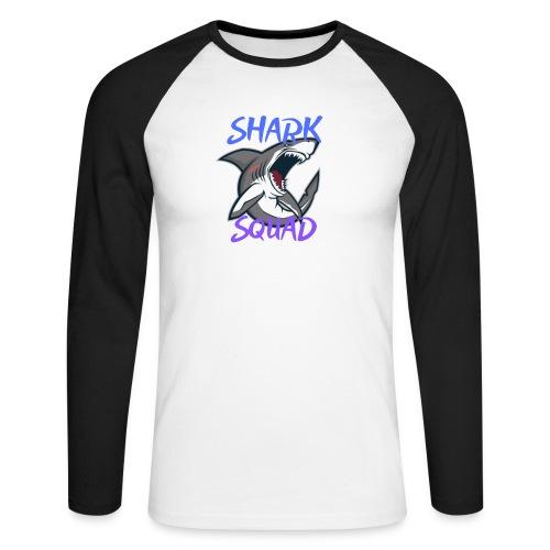 Shark Squad - PowerMEGAL0D0N - T-shirt baseball manches longues Homme