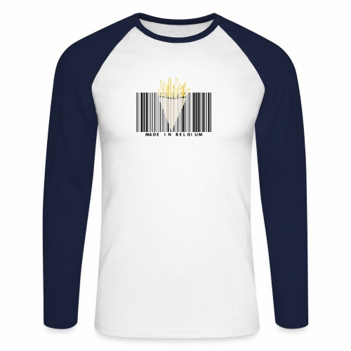 Made In Belgium - T-shirt baseball manches longues Homme