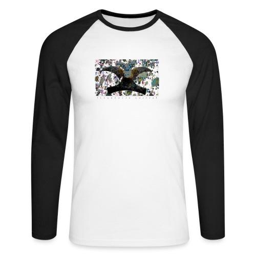 Blue Mojitos (w) - Men's Long Sleeve Baseball T-Shirt