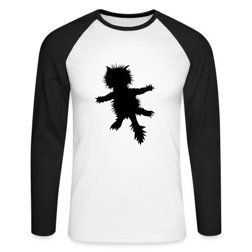 Asphalt-Tiger - Männer Baseballshirt langarm
