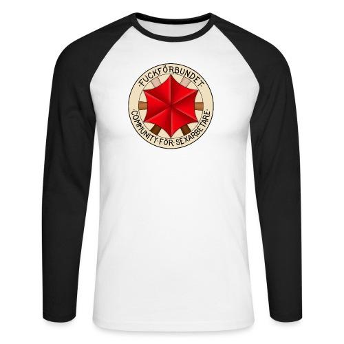 FFLogga - Men's Long Sleeve Baseball T-Shirt
