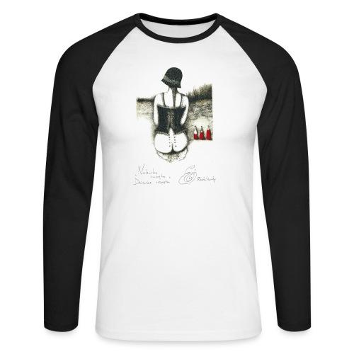 Nalewka Elżbieta Radzikowska - Koszulka męska bejsbolowa z długim rękawem