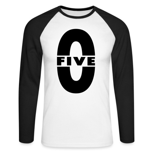 Five0 - T-shirt baseball manches longues Homme