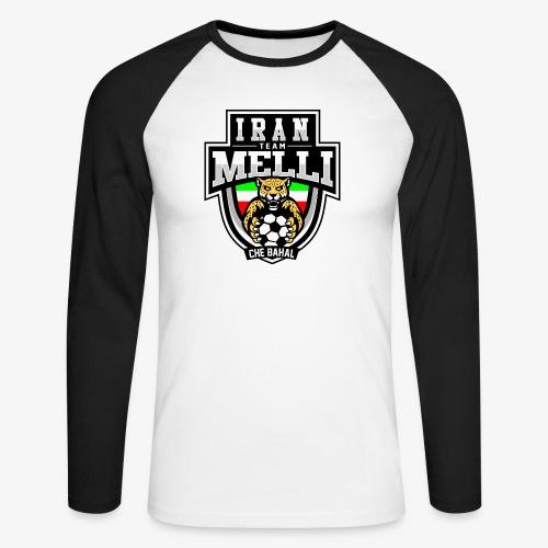 IRAN Team Melli - Männer Baseballshirt langarm