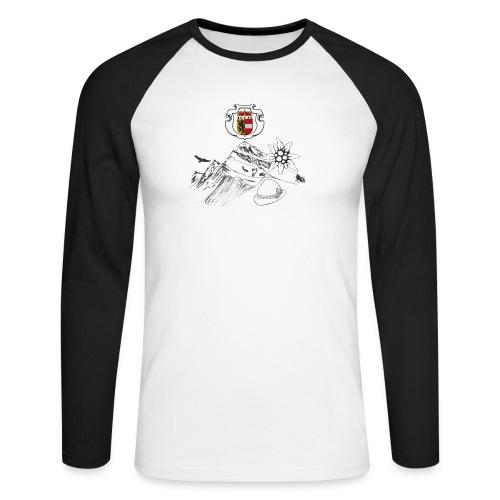 Salzburger Heimat - Männer Baseballshirt langarm