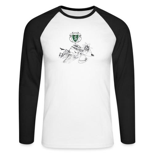 Steirische Heimat - Männer Baseballshirt langarm