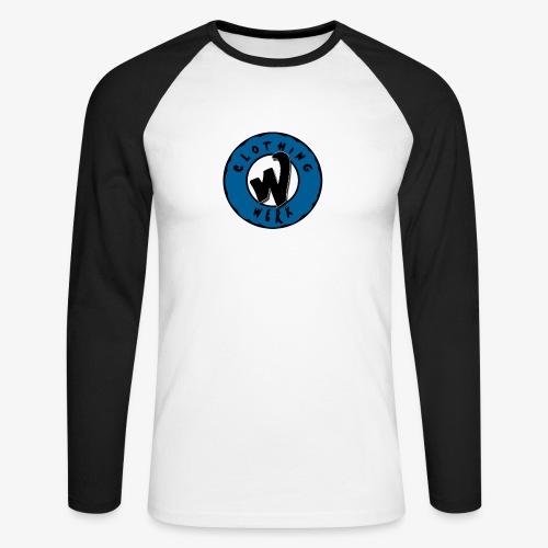 WERK logo - T-shirt baseball manches longues Homme