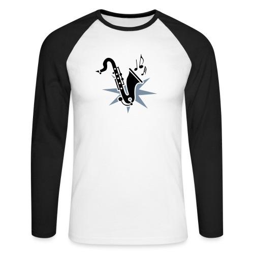 sax4 - Männer Baseballshirt langarm