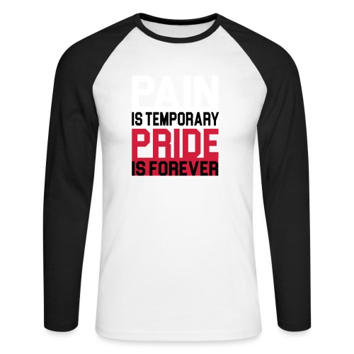 Pride Forever - Männer Baseballshirt langarm