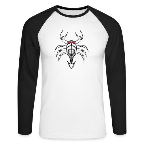 scorpio - Männer Baseballshirt langarm