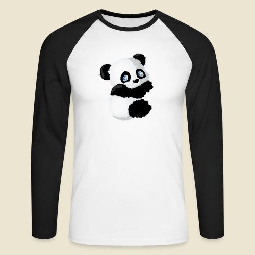 Bébé Panda - T-shirt baseball manches longues Homme