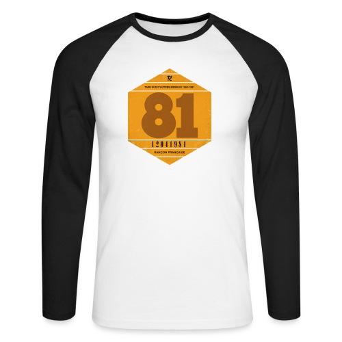 Vignette automobile 1981 - T-shirt baseball manches longues Homme