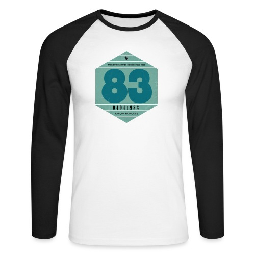 Vignette automobile 1983 - T-shirt baseball manches longues Homme