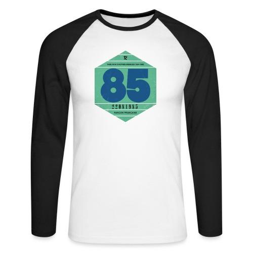 Vignette automobile 1985 - T-shirt baseball manches longues Homme
