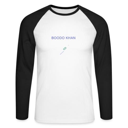 SONY Boodo Khan walkman, the legendary - Men's Long Sleeve Baseball T-Shirt