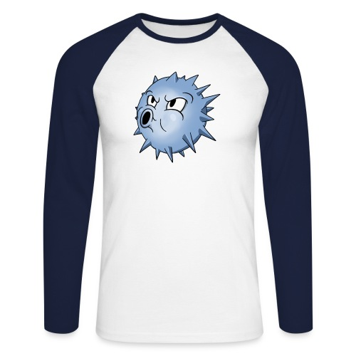 BLOWFISH! - Langærmet herre-baseballshirt