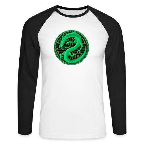 logo mic03 the gamer - Maglia da baseball a manica lunga da uomo