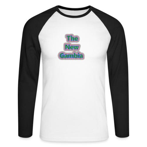 The Nwe Gambia - Men's Long Sleeve Baseball T-Shirt