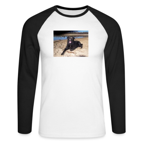 Käseköter - Men's Long Sleeve Baseball T-Shirt