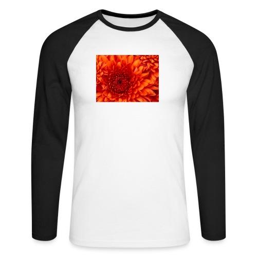 Chrysanthemum - Raglán manga larga hombre