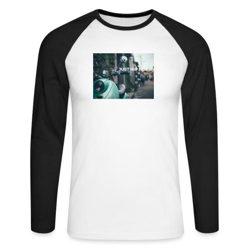 KEMOT_ - Koszulka męska bejsbolowa z długim rękawem