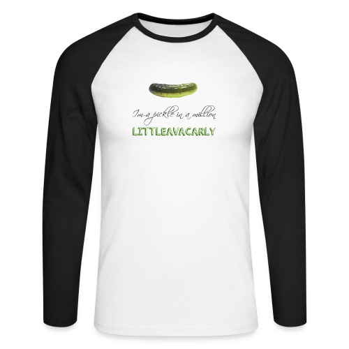 Im a pickle in a MILLION - Men's Long Sleeve Baseball T-Shirt