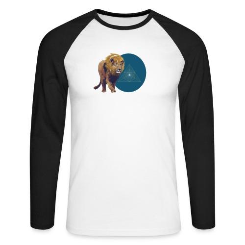 Löwe - Männer Baseballshirt langarm