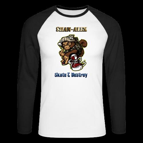Skate - T-shirt baseball manches longues Homme