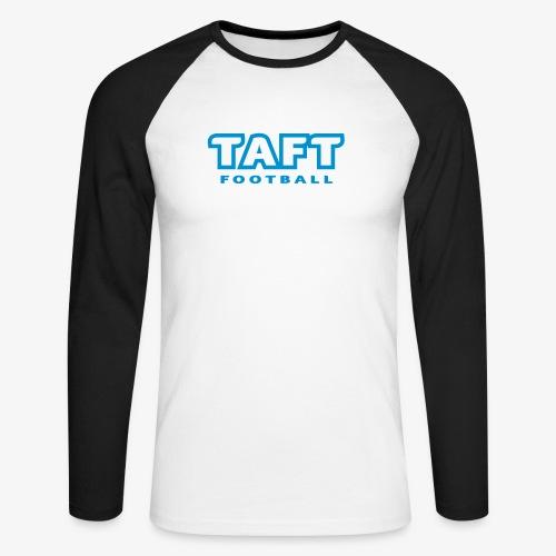 4769739 124019410 TAFT Football orig - Miesten pitkähihainen baseballpaita