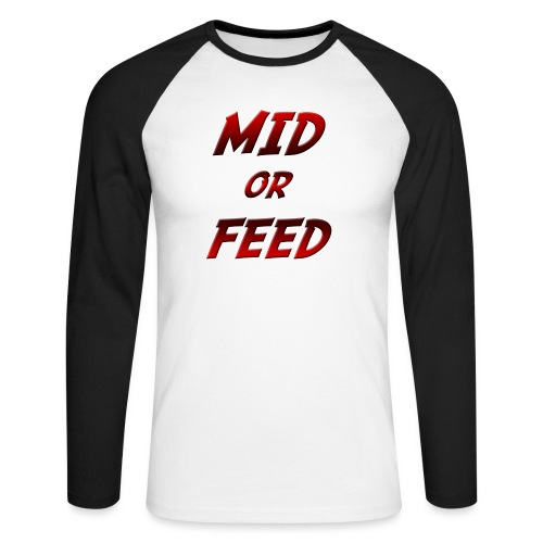 Mid or feed DONNA - Maglia da baseball a manica lunga da uomo