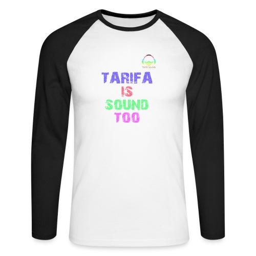 Tarifa tambiés es sonido - Raglán manga larga hombre