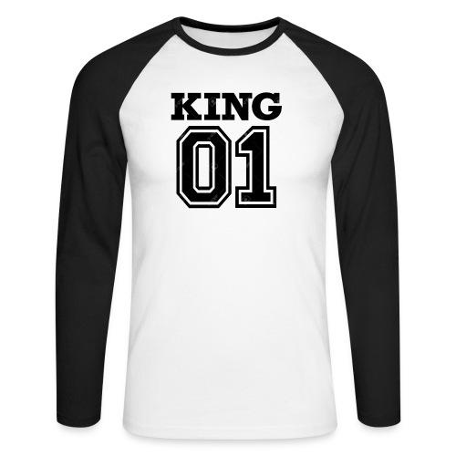 King 01 - T-shirt baseball manches longues Homme