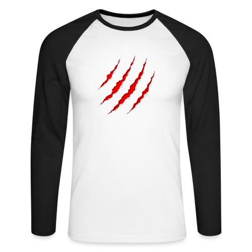 Scars - Langærmet herre-baseballshirt