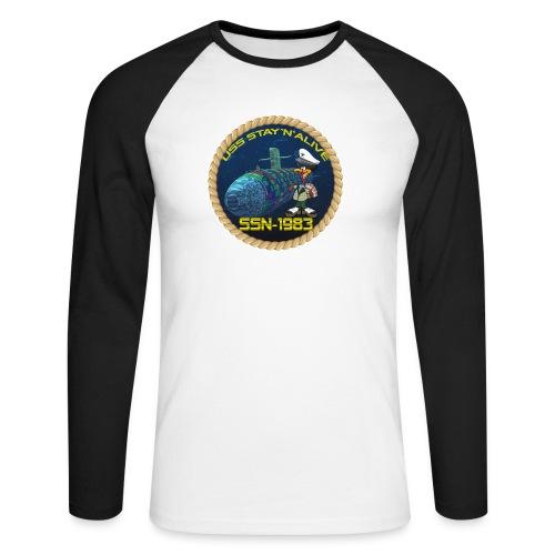 Command Badge SSN-1983 - Men's Long Sleeve Baseball T-Shirt