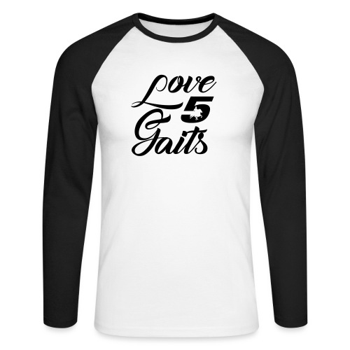 Love 5Gaits - Men's Long Sleeve Baseball T-Shirt
