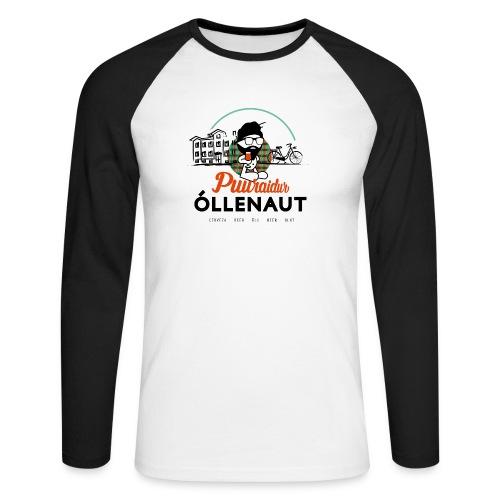 Õllenaut Puuraidur - Men's Long Sleeve Baseball T-Shirt