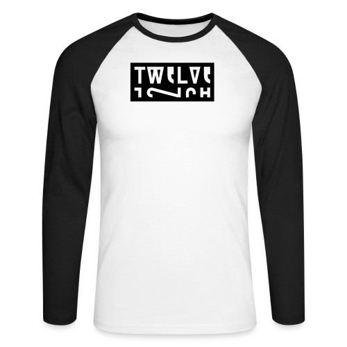 Men's Long Sleeve Baseball T-Shirt - 1,2,3