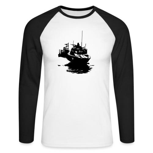 Combat Boat 90 - Stridsbåt 90 - Långärmad basebolltröja herr