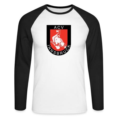 AC Vollkraft Logo - Männer Baseballshirt langarm