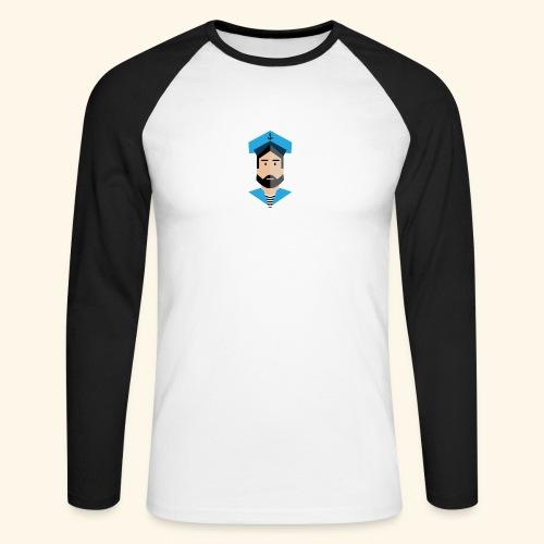 SeaProof App - Männer Baseballshirt langarm